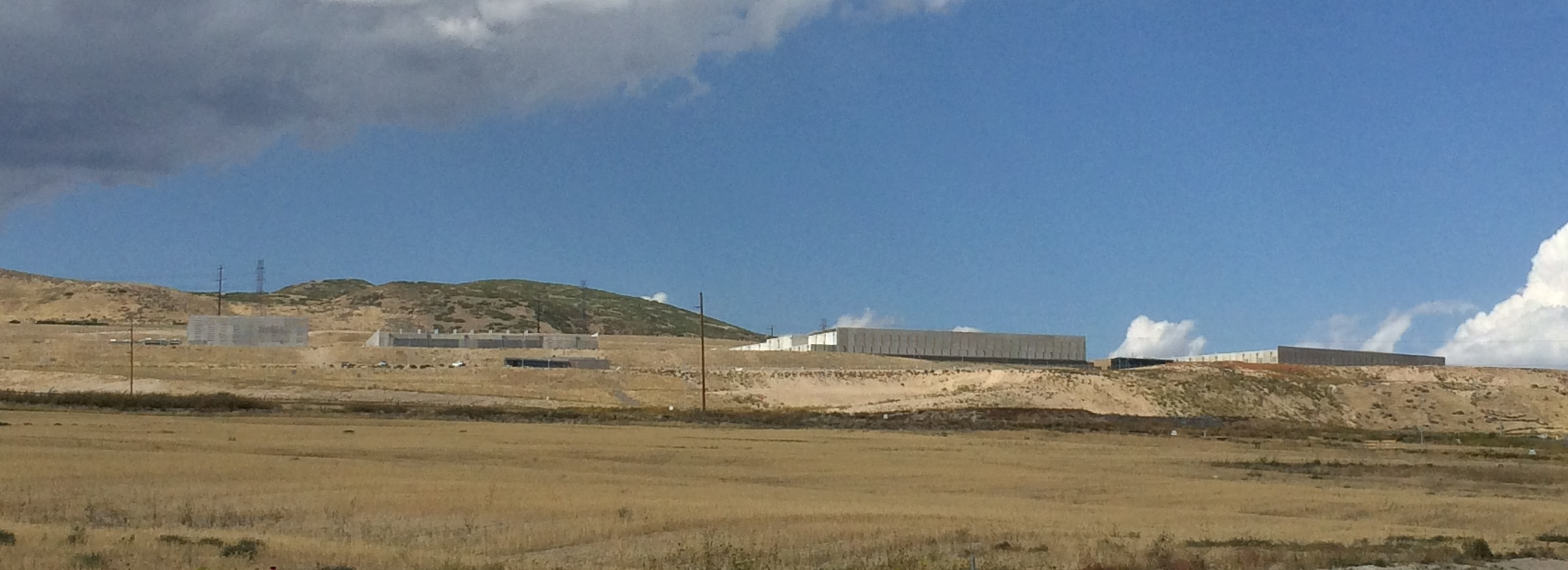 NSA Data Center, a few miles from my office in Lehi, UT